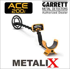Garrett ACE 200i metal detector NEW!! Detecteur de metal Garrett ACE 200i Neuf!!