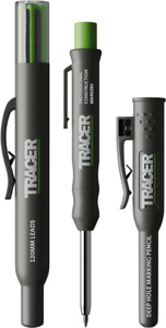 Tracer AMK1 Deep Hole Pencil Marker Set Inc. Leads In Site Holsters