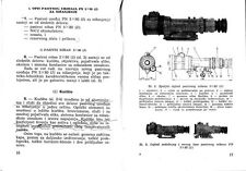 Original Yugoslavian army manual for IP5x80 night scope - pdf format