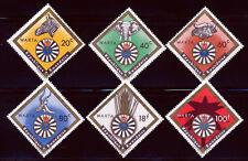 RWANDA 1967 WILDLIFE INTERNATIONAL ROUND TABLE SET SCOTT 219-24