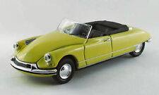 Citroen Ds 19 Cabrio 1961 Yellow 1:43 Model RIO4411 RIO