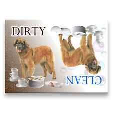 Leonberger Clean Dirty Dishwasher Magnet Must See Dog