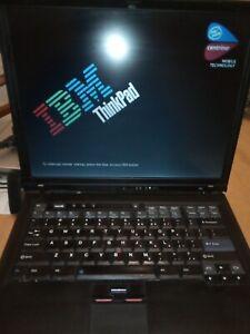 IBM ThinkPad R52 Laptop Centrino, for parts or repair