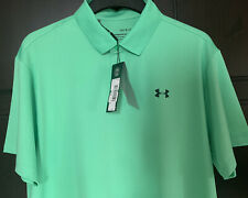 Mens Under Armour Polo Shirt Top. New. Authentic.Size Small