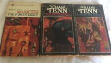 3 Vintage PBs William Tenn: The Human Angle, Of All Possible Worlds, Seven Sexes