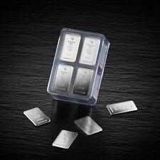 UnityBox 100 x 1g 999 Silberbarren Heimerle & Meule Box&Zertifikat 100x 1 Gramm