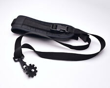 """Unbranded Black Camera Sling Strap with 1/4"""" Mounting Plate (#4894)"""