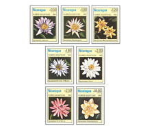 NIC8103 Flowers 7 stamps