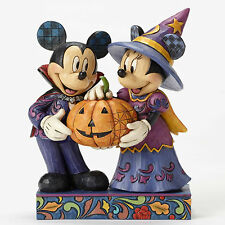 Enesco Jim Shore Disney Traditions Mickey & Minnie Halloween NIB #  4051978