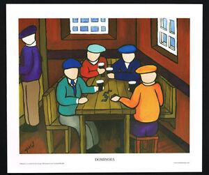 Dominoes/Guinness/Pub/N/Irish Art Group/Fine Print/Martin Laverty/Ireland/New