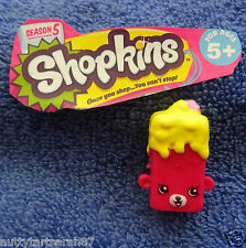 Shopkins SEASON 5 Brittney Brownie 5-073 Red NEW FAST comb postage