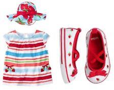 NWT Gymboree STRAWBERRY SWEETHEART Seersucker SunDress Dress 2T 3T 4T 5T
