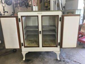 Antique GE Monitor Top 2-Door Refrigerator