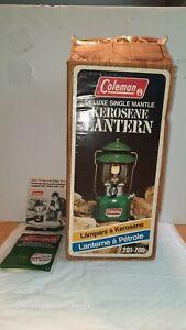 Coleman 201 Kerosene Lantern 9/84