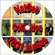 National Geographic Magazine Collection 1031 Vintage Back Issues 3 CD DVD Lot