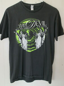 RARE The Devil Wears Prada Tour Concert T-Shirt Size MEDIUM M Metalcore Metal