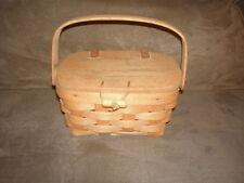 Longaberger 1994 Kiddie Purse Basket Set