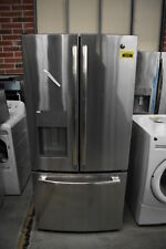 """Ge Gfe24Jskss 33"""" Stainless French Door Refrigerator Nob #36591 Mad"""