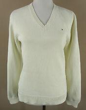 Hüftlange Tommy Hilfiger Damen-Pullover & -Strickware mit V-Ausschnitt