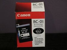 BC-01 Genuine Black Canon Cartridge BJ-5 BJ-10E BJ-20 B2000/B220 B60/B70/B75 NEW
