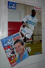 FOOTBALL DROIT AU BUT N°6 1998 OLYMPIQUE MARSEILLE OM JAMBAY ROY COURBIS OM-PSG