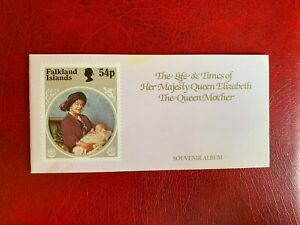 QUEEN MOTHER 1985 ALBUM & STAMPS ROYALTY