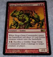Red Tenth 10th Edition Mtg Magic Rare 4x x4 4 PLAYED Siege-Gang Commander
