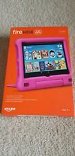 "Amazon Fire HD 8 Kids Edition tablet Pink, 8"" HD display 32 GB,10th gen Latest"