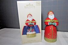 "2007 Hallmark QXC7005 ""Santa Music Box"" Ornament"