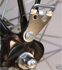 Fahrradtaschen Adapter  für Gepäckträger CROSSO silber