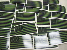 100 OD USA FLAG Sticker Decal LOT boat camo  Window Truck suv Wholesale American