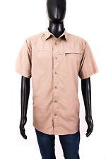 *The North Face Mens Shirt Short Sleeve Khaki XL
