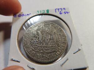 S128 Netherlands Zealand 1779 6 Stiver