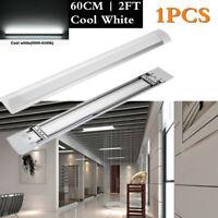 60CM 20W LED Röhre Tube Leuchtstoffröhre Lichtleiste Deckenleuchte Lamp Kaltweiß