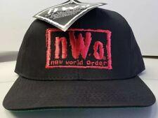 NEW! VINTAGE  HULK HOGANS NWO 1990'S SNAPBACK WRESTLING HATS (LAST 2 LEFT!!)