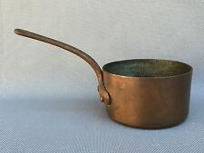 Ancienne petite casserole en cuivre déco cuisine vintage art pop french antique