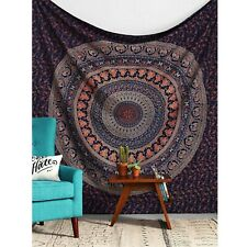 Twin Indian Mandala Tapestry Wall Hanging Hippie Urban Throw Cotton Bedspread
