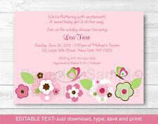 Borboletas Rosa Convites De Saudação Ebay