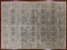 9' X 12' William Morris Hand Knotted Wool Oriental Area Rug - Q1396