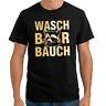 Waschbärbauch Waschbär Bauch Sprüche Geschenk Lustig Spaß Comedy Fun T-Shirt