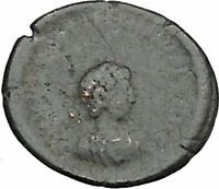 VALENTINIAN II 378AD Authentic Ancient Roman Coin WREATH of success i40457