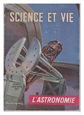 SCIENCE ET VIE    HS  11 L'ASTRONOMIE   1950