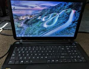 Used Toshiba Satellite 15' Laptop C50-B