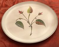 """Denby Stoneware A. College 10 1/4"""" Dinner Plates Made in England Lot of 2 EUC"""