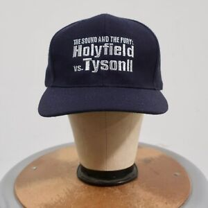 Vintage 90s Holyfield Tyson 2 The Sound and The Fury Snapback Hat Cap