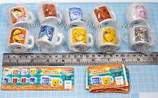 Disney Winnie The Pooh & Fans Mini Ceramic Cup, 10pcs - Yujin h#1