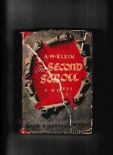 THE SECOND SCROLL---A. M. KLEIN---hc/dj---1951---ALFRED A. KNOPF NEW YORK