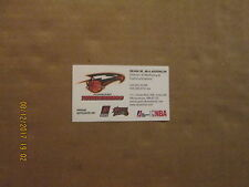 NBDL Albuquerque Thunderbirds Suns 76ers Affiliates Basketball Business Card