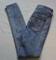 Bullhead High Rise Skinniest Women's Blue Jeans  Size 1