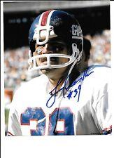 Larry Csonka Autograph / Signed 8 x 10 photo New York Giants